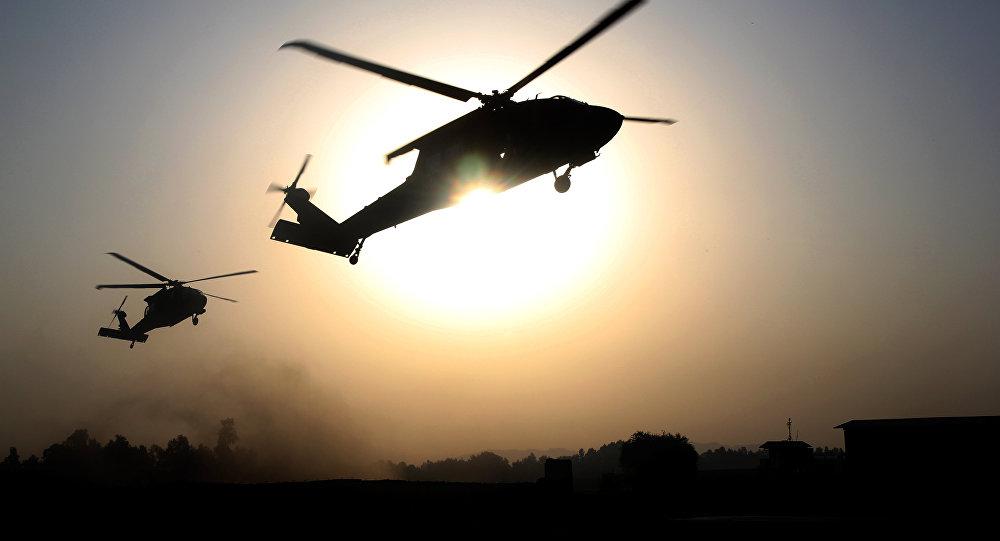 EEUU transporta en sus helicópteros el oro sirio robado por ISIS