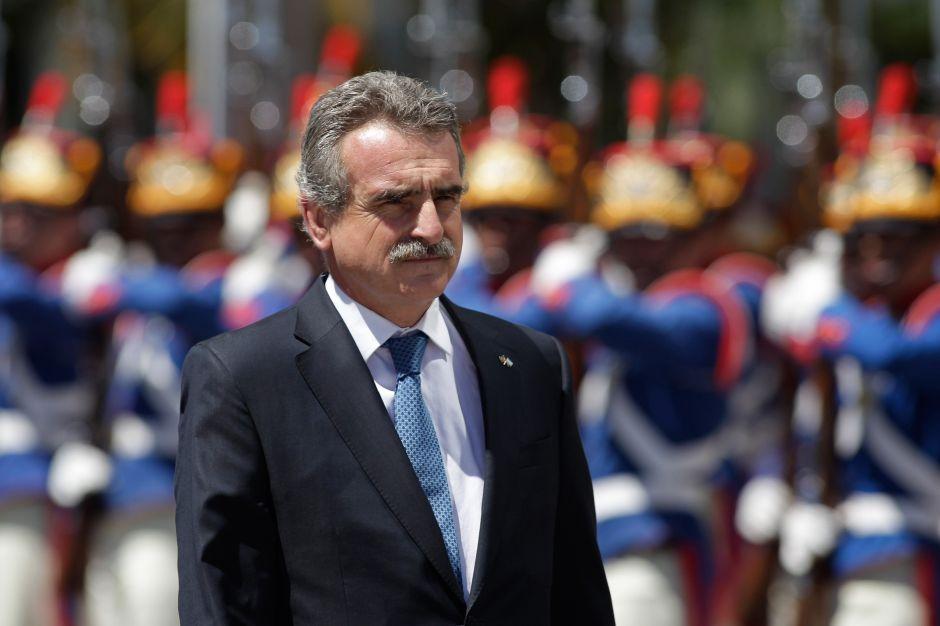 Agustín Rossi, jefe del bloque de izquierda en la Cámara de Diputados de Argentina