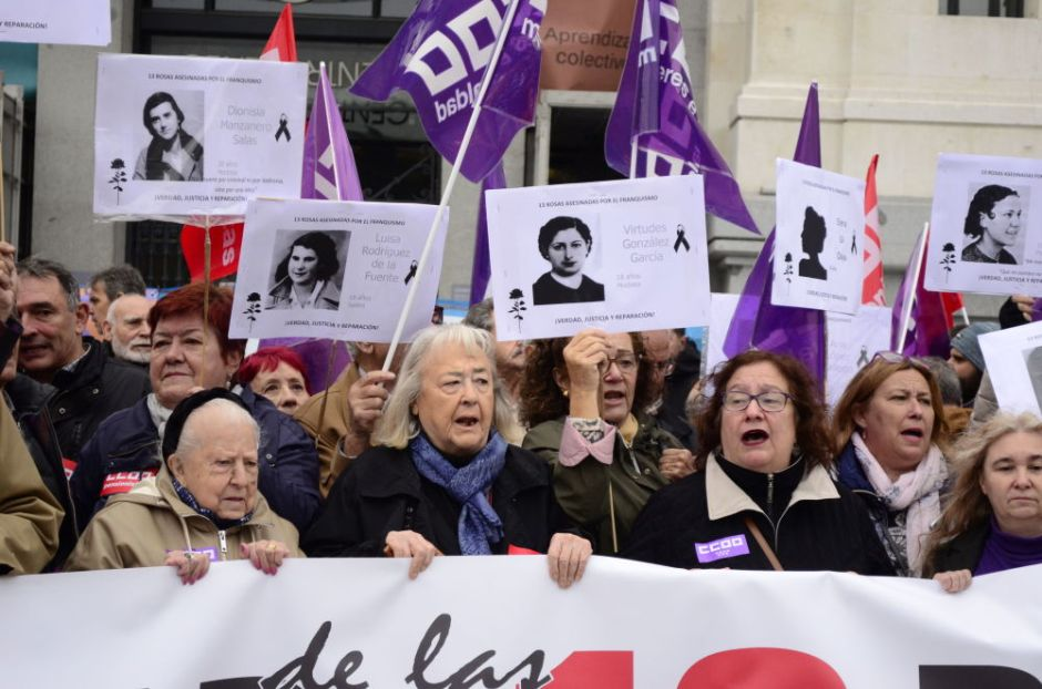 Descendientes de las víctimas del franquismo 2
