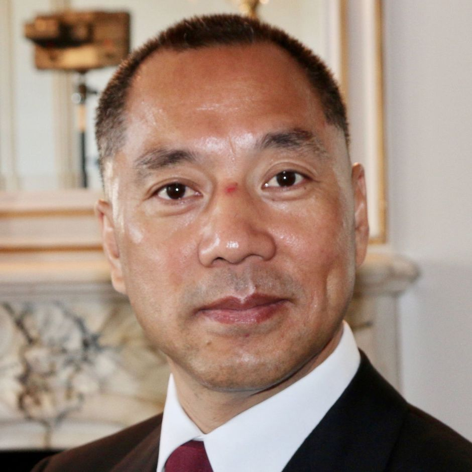 El magnate inmobiliario chino Guo Wengui