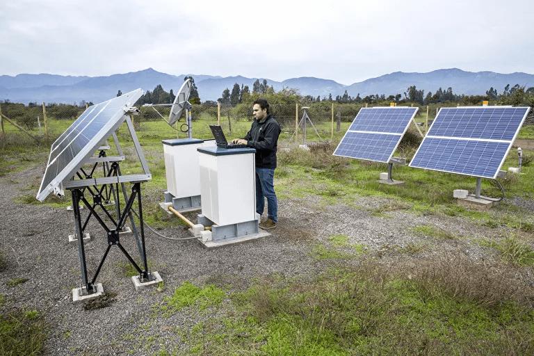 Estación sismológica del Centro Sismológico Nacional de la Universidad de Chile 1
