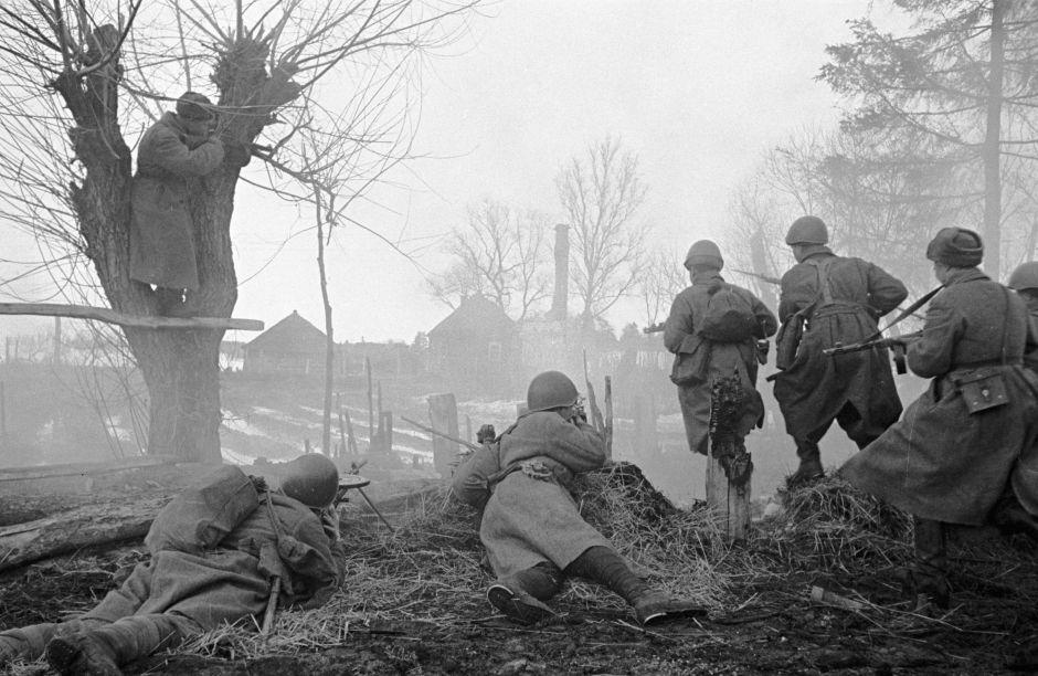 La batalla de Moscú, 1942