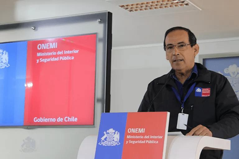 Ricardo Toro, director de la Oficina Nacional de Emergencia (Onemi)
