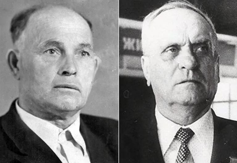 Vasili Gúbarev e Iván Sídorov