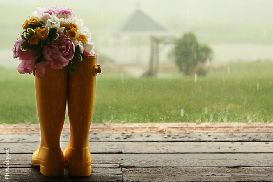 llueve en mi boda