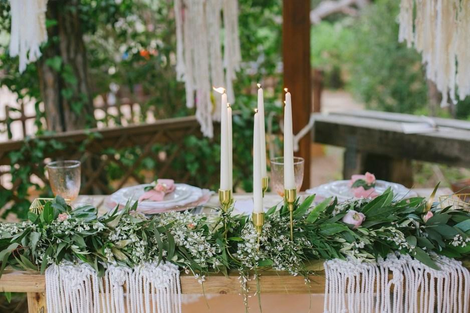 Decora tu boda con Macrame 6