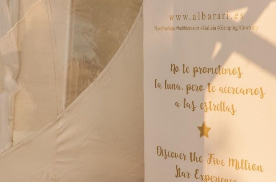 ALBARARI Hotel burbuja en Oleiros Una experiencia unica 12
