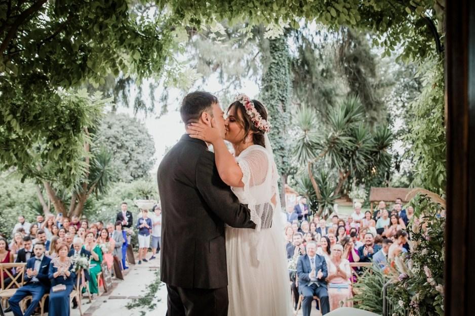 Ceremonia romántica vintage