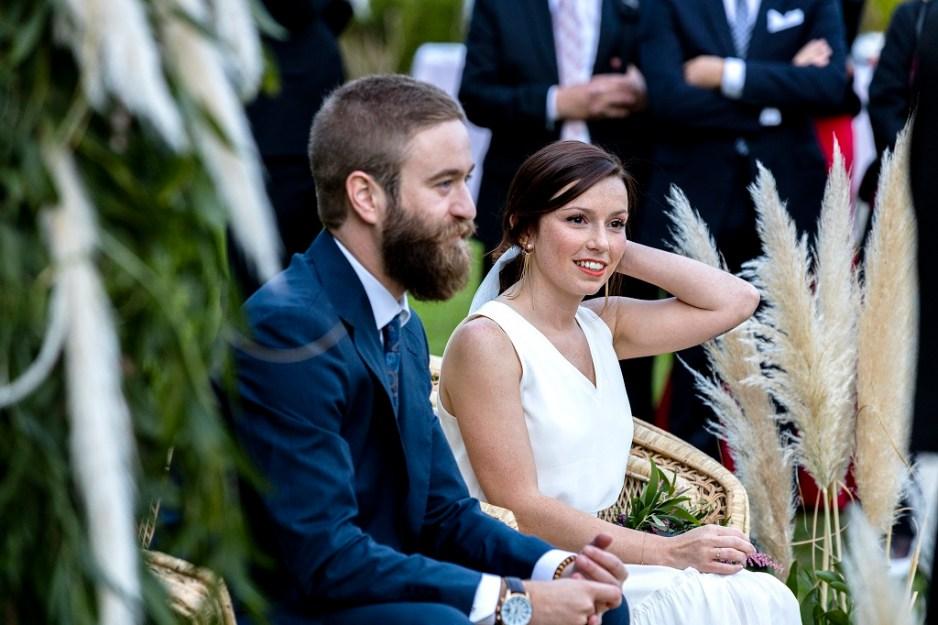 Nuria y Yayo - Una boda con plumeros