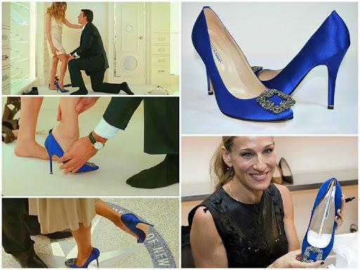 El zapato de la novia - Manolo Blahnik - Modelo Hangisi