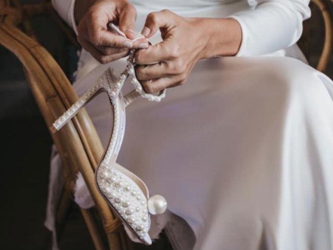 El zapato de la novia - Sacora - Jimmy Choo