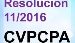 resolusiones del cvpcpa, consejo de vigilancia de la contaduria publica