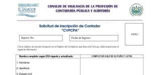 requisitos para contadores cvpcpa, solicitud de inscripcion contadores en cvpcpa