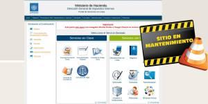 declaraciones por internet, servicios en linea ministerio de hacienda el salvador