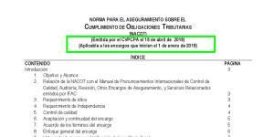 nomativa tecnica para auditorias fiscales el salvador
