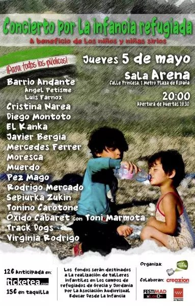 concierto infanciarefugiada
