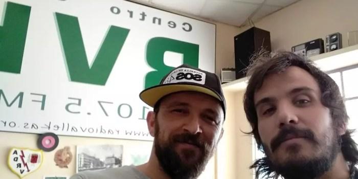 Audio de la entrevista a Joaquín Garli en Radio Vallekas (mayo 2018)