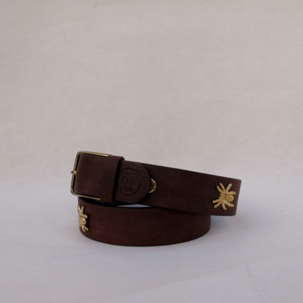 Cinturón marrón araña larga