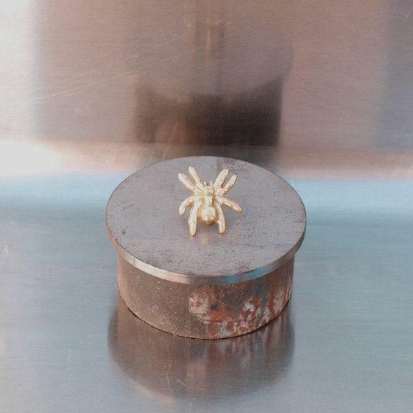 Hebillas cinturón western araña