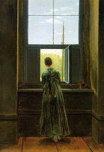 Caspar_David_Friedrich Mujer en la ventana. 1822