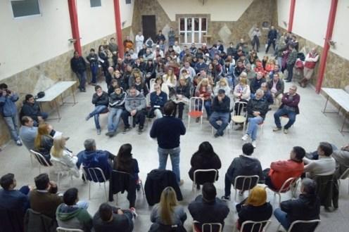 Plenario militante en Villa Nueva convocado por Mincarelli