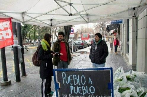 Bertoldi de Patria Grande en la campaña Pueblo A Pueblo