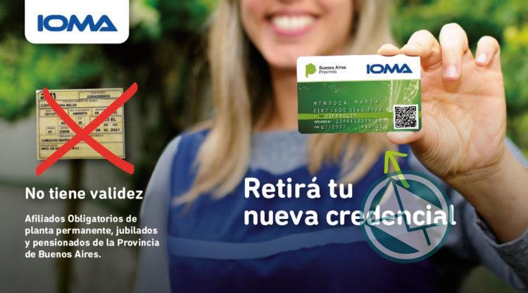 IOMA informó que los usuarios con códigos QR retiren sus credenciales en las delegaciones