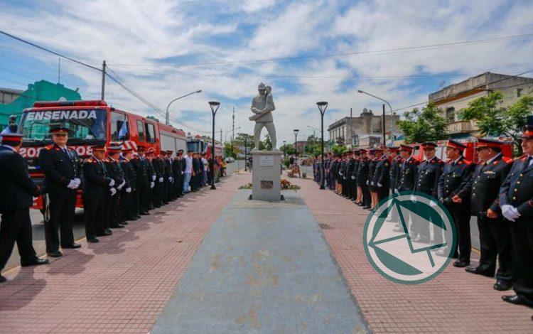 Acto por el 122° aniversario de Bomberos de Ensenada