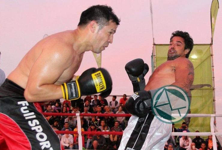 Boxeo solidario en Mar del Plata 01