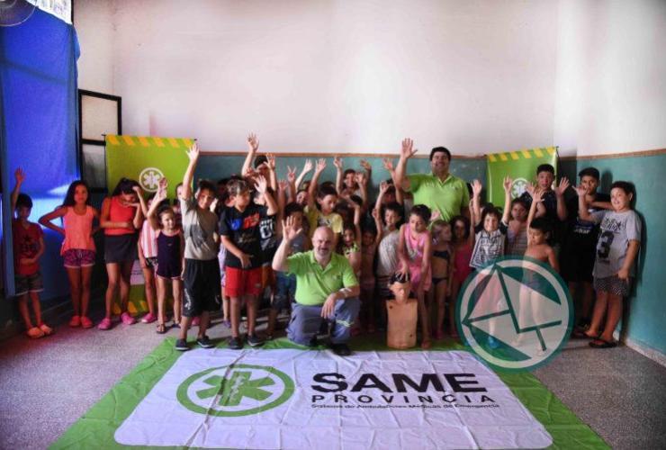 El SAME La Plata brinda capacitaciones en RCP para las 18 Escuelas de Verano1