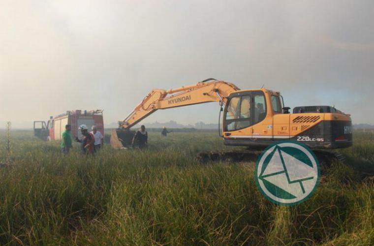 Incendio en la reservade Punata Lara sabado 3 0103
