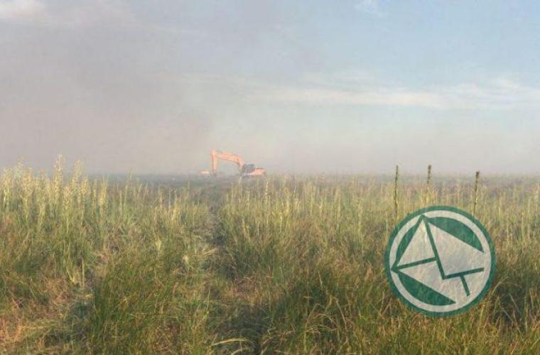 Incendio en la reservade Punata Lara sabado 3 0109