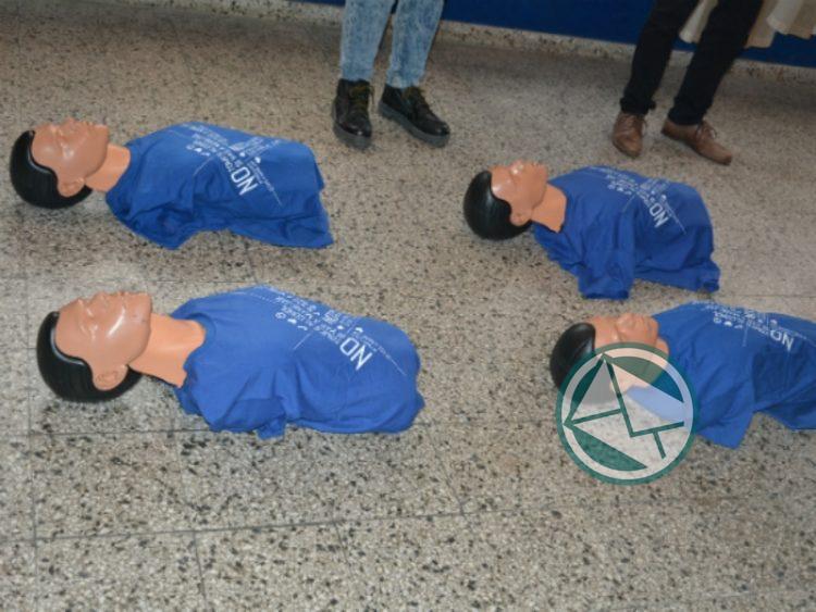 """Lanzamiento de un Programa """"Vidas Protegidas: Primeros Auxilios y RCP""""  en Berisso"""