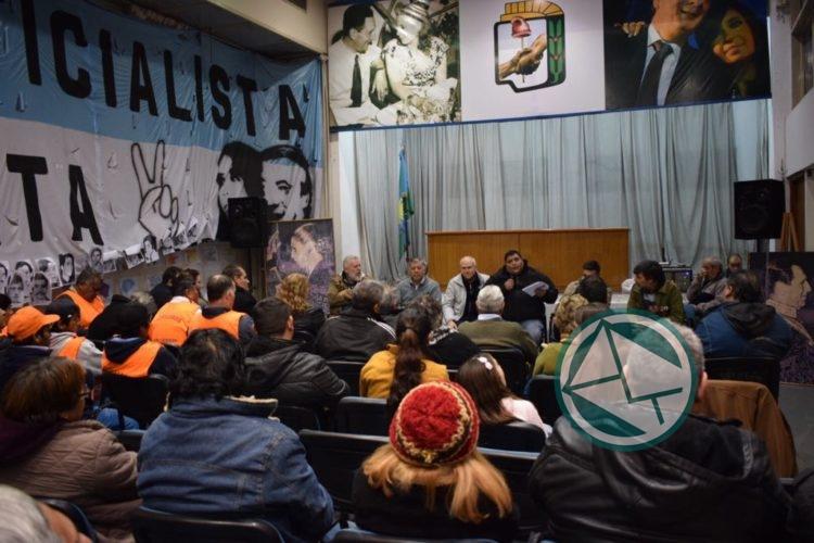 PJ La Plata adhiere al paro general del 25 de Junio