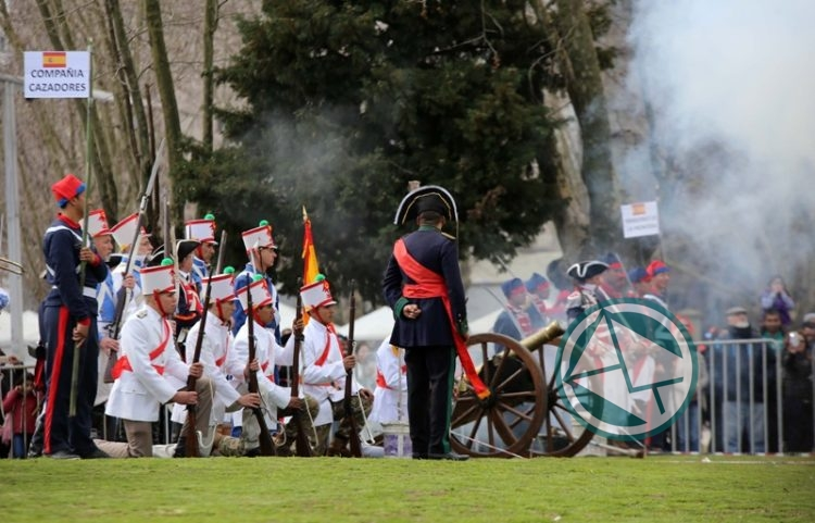 Semana Sanmartiniana: Con un gran despliegue, se desarrolló la recreacion de la Batalla de Maipú