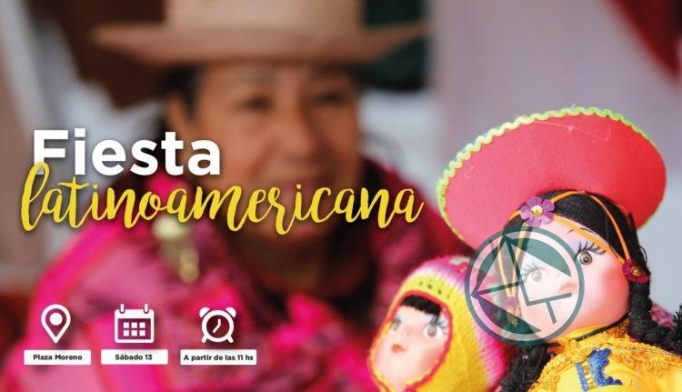 Primer Encuentro Cultural Latinoamericano a Plaza Moreno