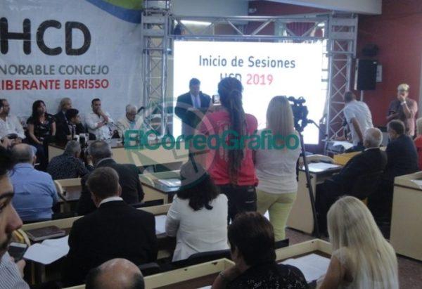 Nedela hizo hincapié en sus 38 meses de gestión en el discurso inaugural del Concejo Deliberante 04