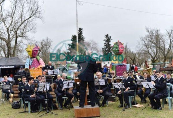 La Policía Bonaerense expone en el Parque Cívico 3