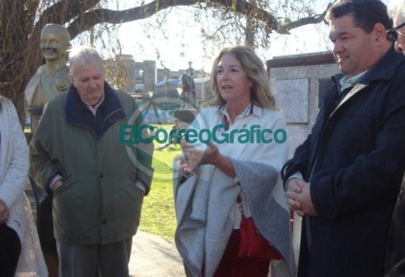 Claudia Rucci pasó por Berisso en su recorrido del frente Juntos por el Cambio 05