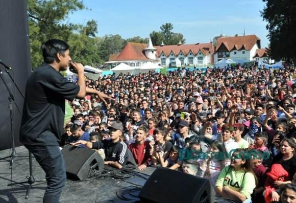 Seis mil chicos participaron del encuentro de 'Envión Sos Vos' en la República de los Niños 03