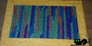 camino de mesa hecho con retales