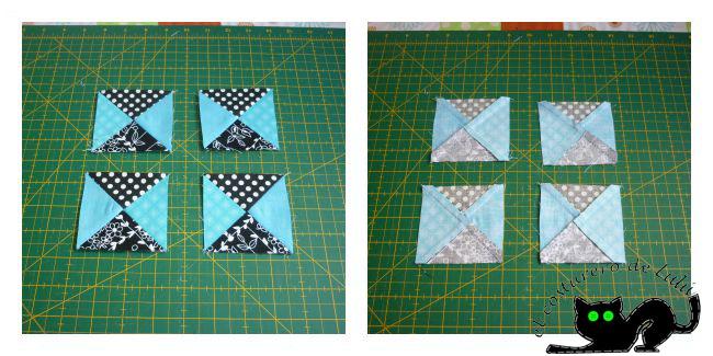Este es el resutado de coser los cuadrados