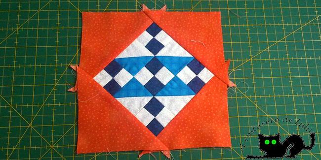 Cuando terminamos de coser nos sobran las esquinas