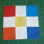 El doble disappearing nine patch