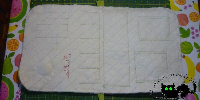 Ya tenemos preparado el conjunto para coser la cremallera