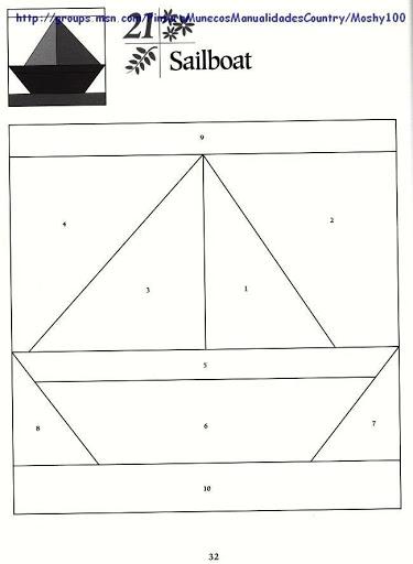 101 Foundation-Pieced Quilt Blocks 032