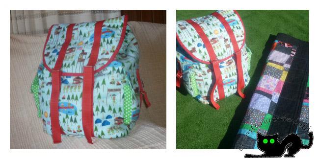 La mochila, perfecta para llevar al campo