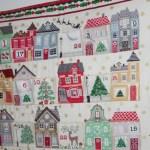 Calendario de adviento de patchwork
