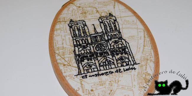 Bordado Notre Dame