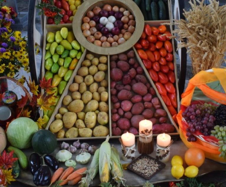 7 октября праздник Жатвы. День Благодарения.